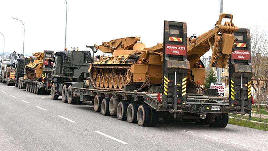 Suriye sınırına yeni bir askeri sevkiyat daha!