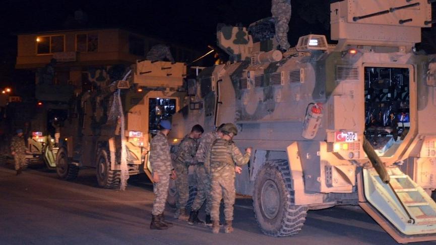 Suriye sınırına komando sevkiyatı!