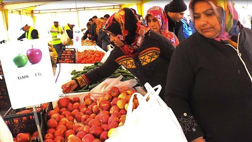 Gaziantep'te tanzim satış merkezi kuruldu, fiyatlar yüzde 50 düştü!