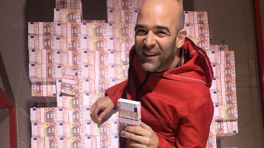 Murat Evgin'den La Casa De Papel pozu