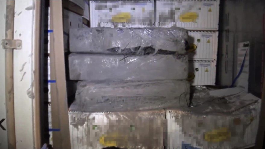 Muz kolileri arasında 185 kilo kokain ele geçirildi