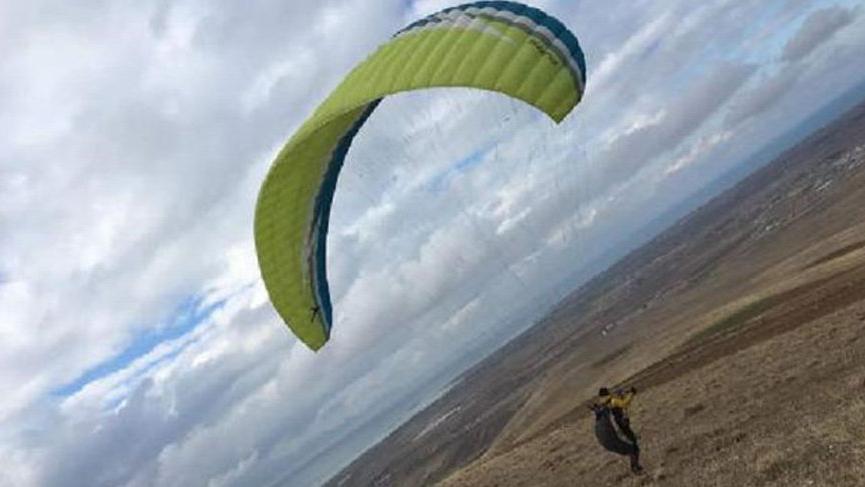 Yamaç paraşütçüsü feci şekilde can verdi!