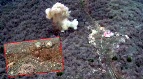 PKK'nın tuzakladığı patlayıcı imha edildi