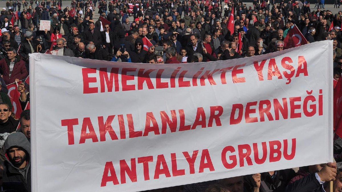 İstanbul Maltepe'de EYT Mitingi