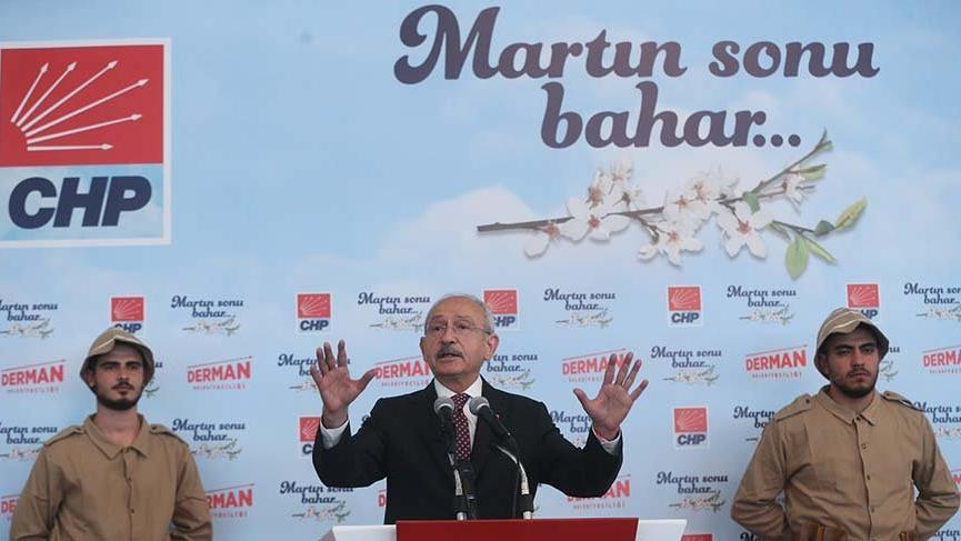 Kılıçdaroğlu: Öyle atmosfer yarattılar ki kılıç kalkan birbirimizi öldüreceğiz