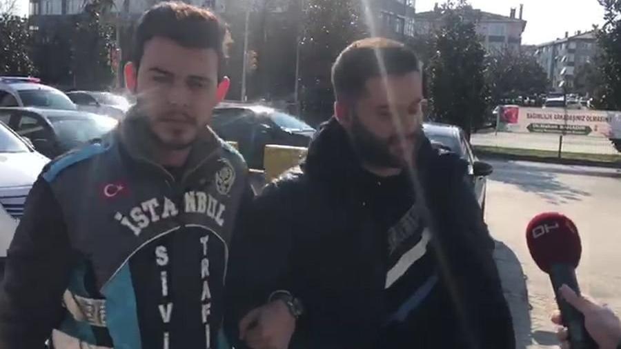 Ambulansa yol vermeyen magandanın ifadesi ortaya çıktı