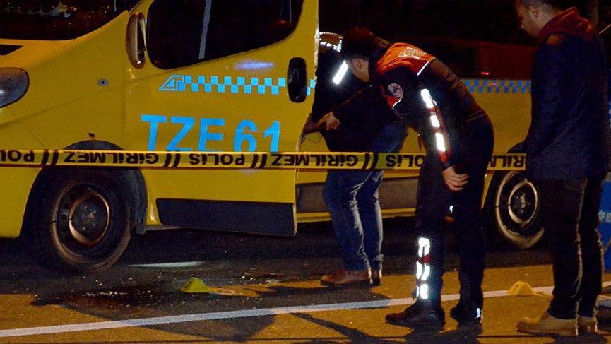 Üsküdar'da tartıştığı dolmuş şoförünü silahla yaraladı!
