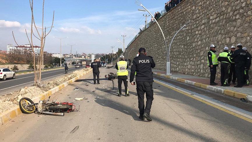 Trafik polisi, görevli gittiği kaza yerinde oğlunun ölüm haberini aldı