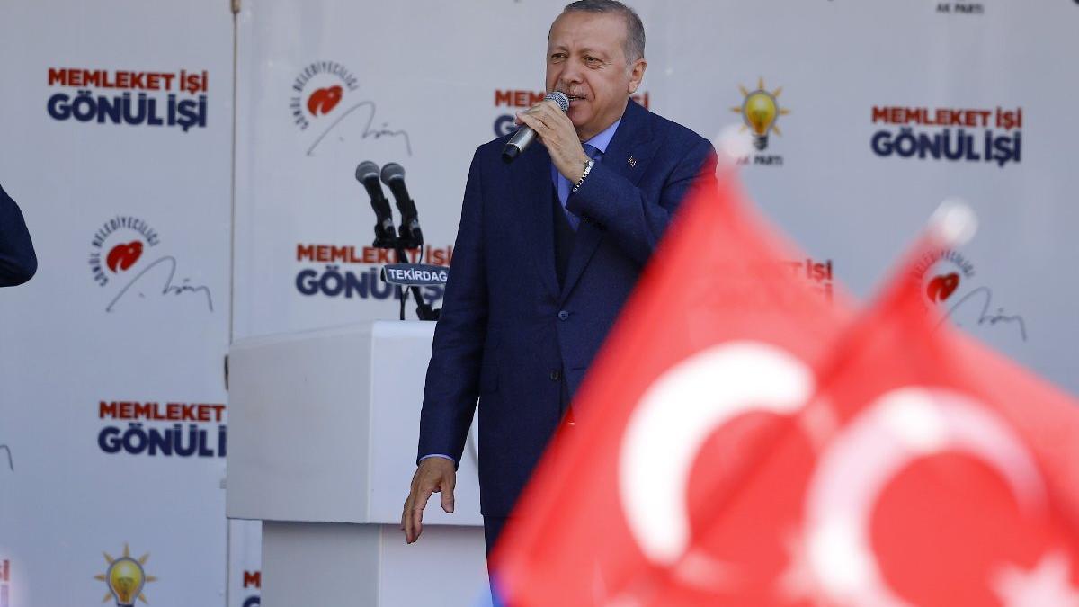 Erdoğan açıkladı! Çorlu Havalimanı'nın yeni ismi: Çorlu Atatürk Havalimanı