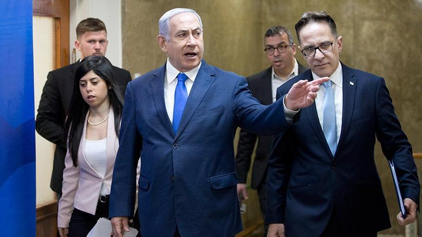 Netanyahu'ya 'rakibinin telefonunun hacklendiğini basına sızdırma' suçlaması