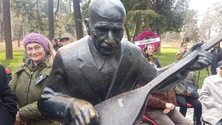 Aşık Veysel, vefatının 46'ncı yılında Gülhane Parkı'nda anıldı