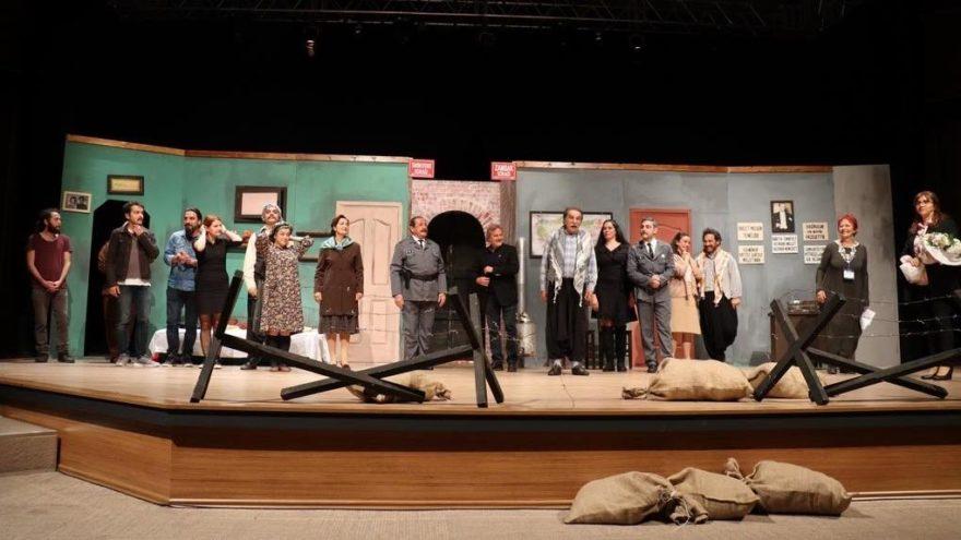 Bodrum Şehir Tiyatrosu'nun, 1'inci yıl dönümünü kutlandı