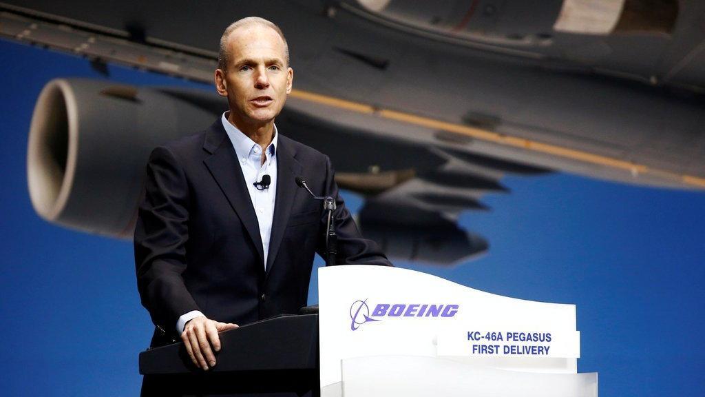 Boeing CEO'su: Daha güvenli olmak için çalışıyoruz