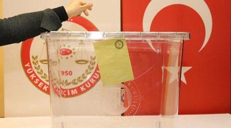 Türkiye, sandık başına gidiyor