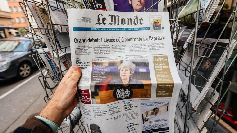 Fransa'da Le Monde tartışması
