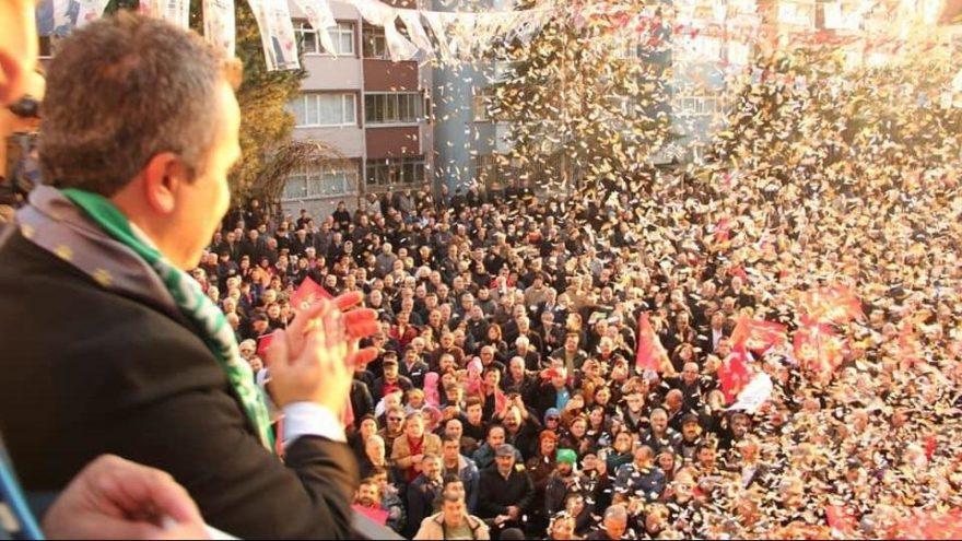 CHP'li Erdursun'dan miting gibi nokta buluşması