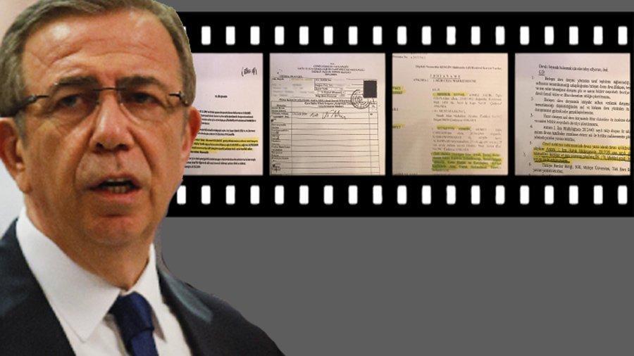 Son dakika... İşte Mansur Yavaş'ın açıkladığı o belgeler...