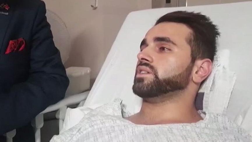 Cami saldırısından kurtulan Türk vatandaşı: 2-3 saniye geç kalsaydım ölmüştüm