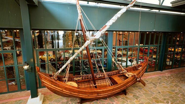 Yenikapı 12 rekonstrüksiyonu Rahmi M. Koç Müzesi'nde demirledi