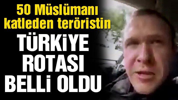 50 Müslümanı katleden teröristin Türkiye rotası ortaya çıktı!