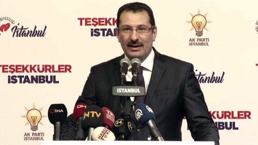 Son dakika: AKP'den İstanbul için itiraz açıklaması