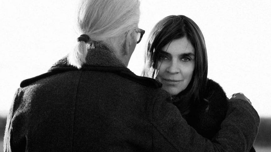 Carine Roitfeld, Karl Lagerfeld markasının stil danışmanı oldu