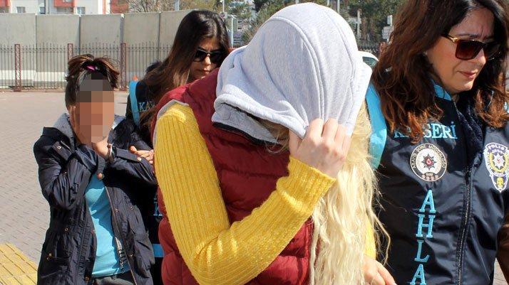 Kayseri'de 'swinger' operasyonu: 8 kişi adliyede