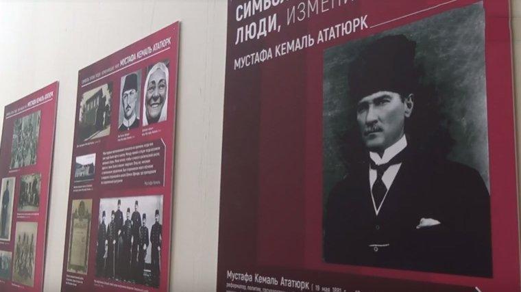 Rusya'da Atatürk sergisi açıldı