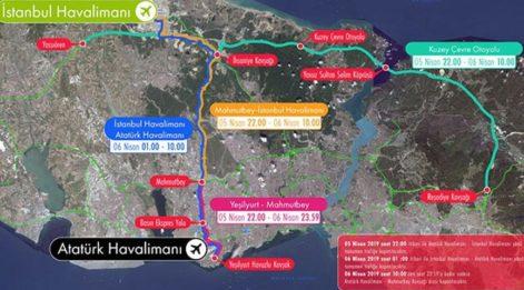 İstanbul'da bu yollar trafiğe kapalı! İşte alternatif güzergahlar…