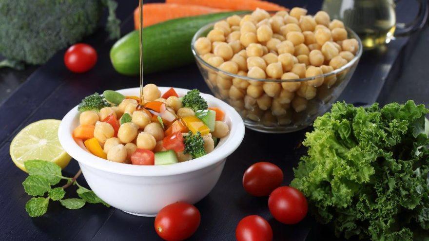 Nohut salatası tarifi: Nohut salatası püf noktaları…
