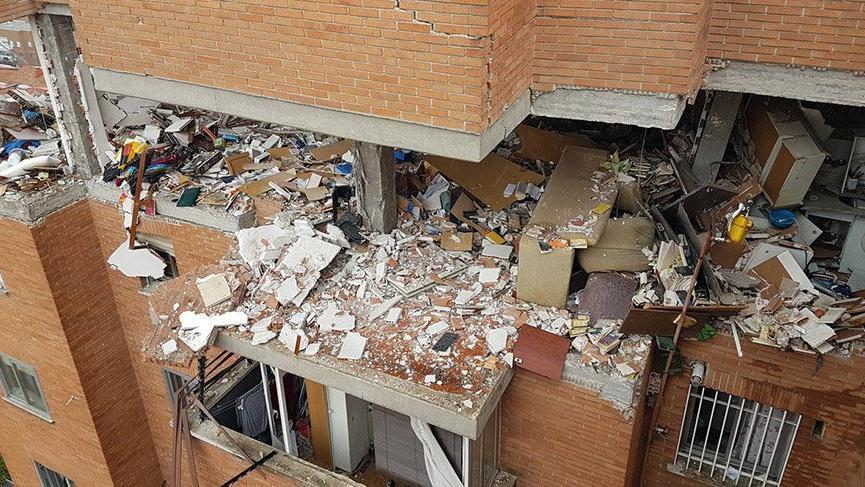 İspanya'da gaz patlaması: 16 yaralı