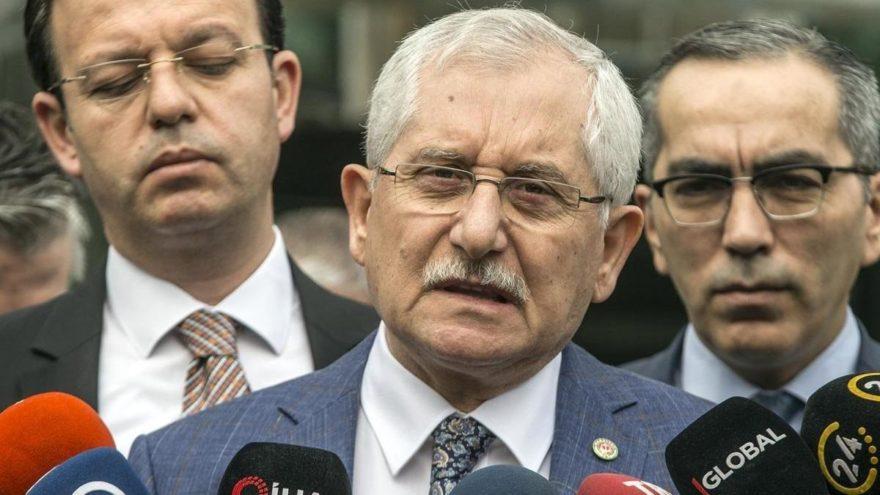 YSK Başkanı'ndan seçim sonuçları açıklaması! 'Onu da siz araştırın'