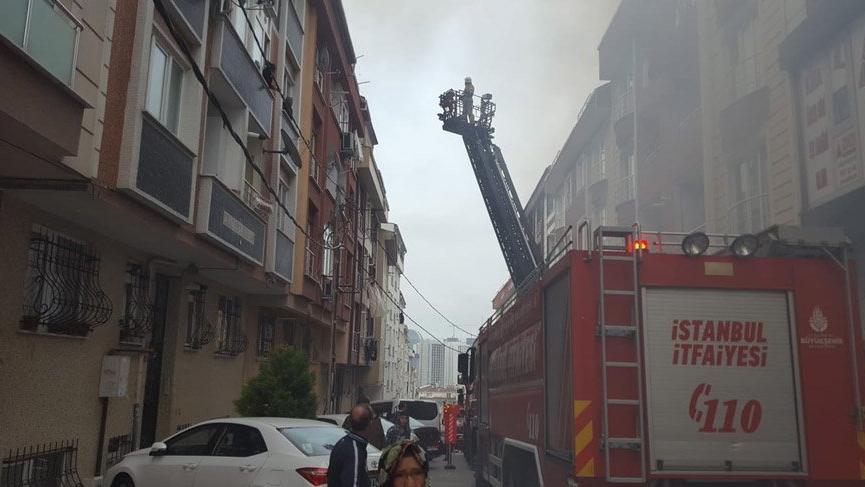 Son dakika: İstanbul'da korkutan yangın