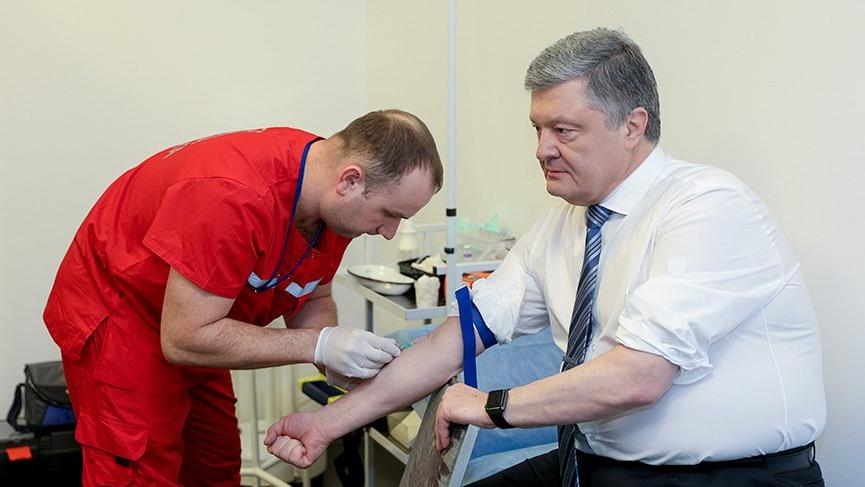 Ukrayna Devlet Başkanı Poroşenko'nun analiz sonuçları açıklandı