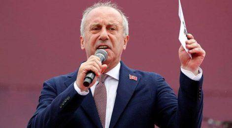 İnce'den Erdoğan'a 'milli irade' çağrısı!