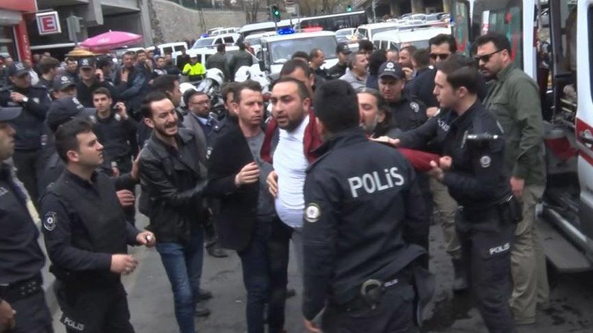 Ankara'da seyyar satıcılar ve taksicilerin silahlı kavgası