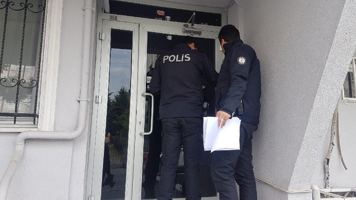 Polis kapı kapı gezdi seçmen kontrolü yaptı!