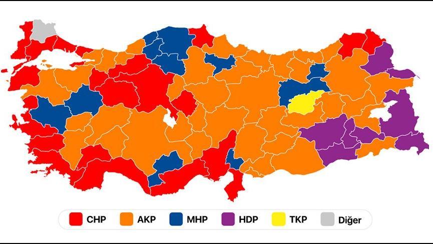 Seçim sonuçları: En kalabalık illeri hangi parti kazandı?