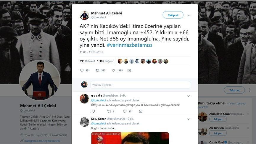 Kadıköy'de yeniden sayım bitti, işte sonuç