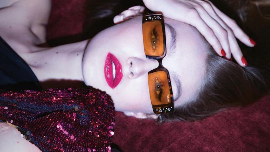 Gigi Hadid güneş gözlüğü tasarladı