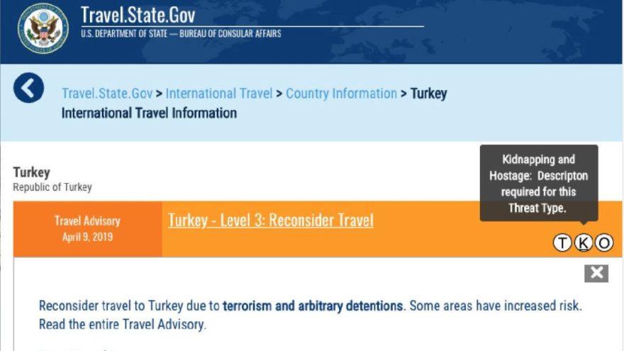 ABD'den saçma uygulama: İlk kez Türkiye'de uygulandı
