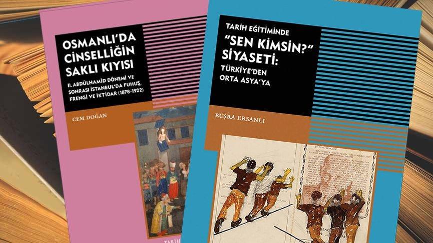 Tarih Vakfı Yurt Yayınları'ndan iki yeni kitap