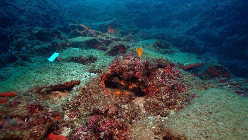 Antalya'da bulunan batıktaki 74 bakır külçenin dünyada sadece 5 örneği var
