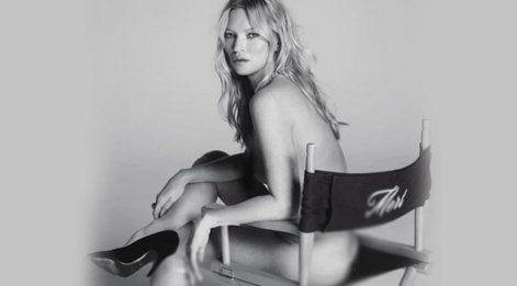 Mert Alaş paylaştı: Kate Moss'tan striptiz!