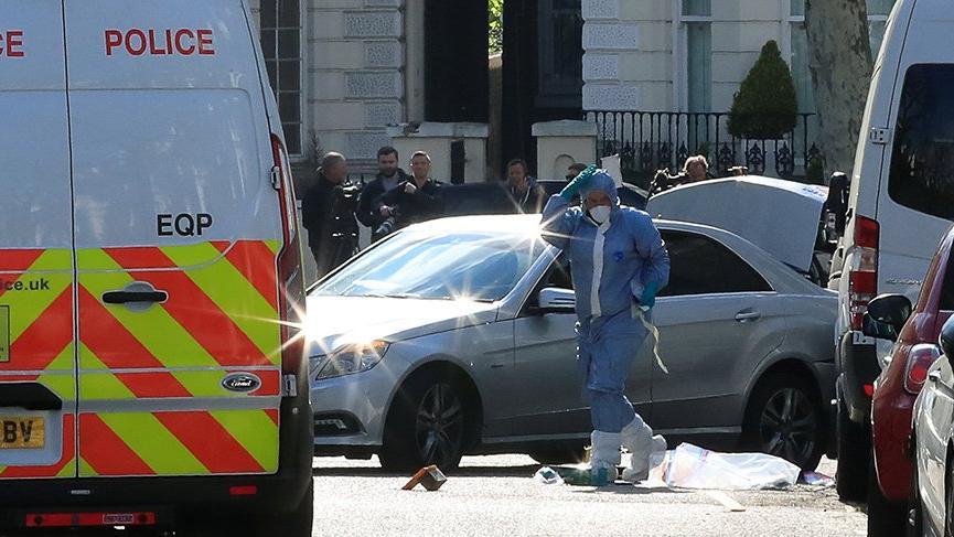 Londra'da silahlı saldırı!