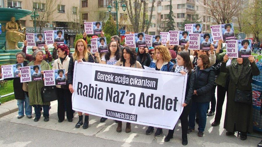 Yurt genelinde Rabia Naz nöbeti