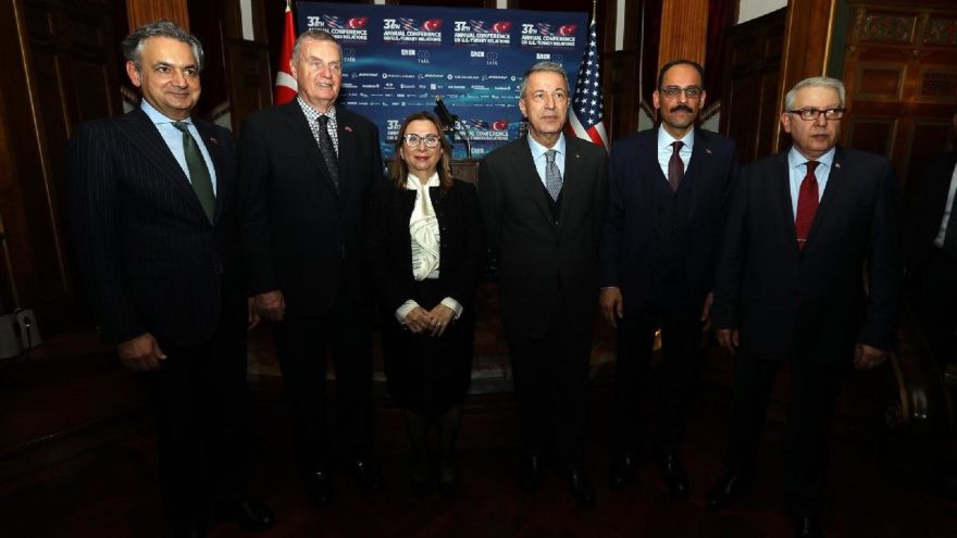 Akar ve Kalın Amerikan-Türk Konseyi toplantısı için Washington'da