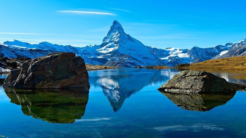 Avrupa'nın zarif dağı Matterhorn