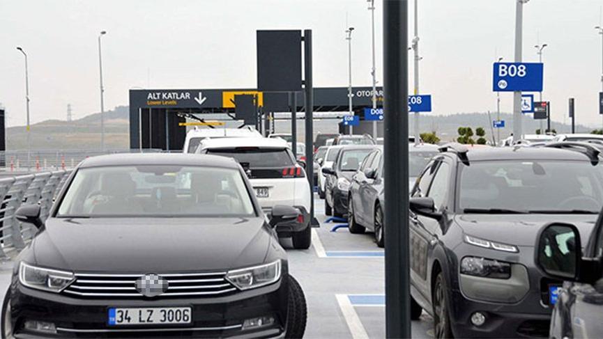 İstanbul Havalimanı otoparkı artık ücretli!