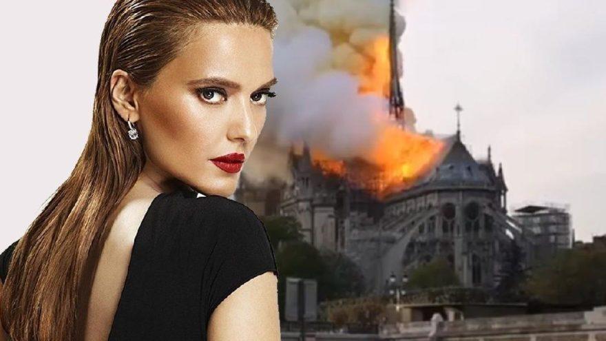 Demet Akalın: Allah korusun Notre Dame yangını Türklerin üstüne kalır